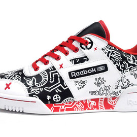 Reebok - WORKOUT PLUS 「KEITH HARING」 「LIMITED EDITION」