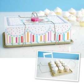 Glitterville  - Cupcake Carrier - The Afternoon : cupcakes kitchen baking cupcake carriers
