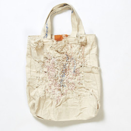 Run 7 - Cotton Tote bag by Susan Cianciolo