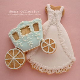 Brooch cookie
