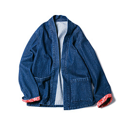 SOPHNET. - DENIM SHIRT CARDIGAN