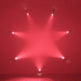 "Ann Veronica Janssens - ""Rose"" Light Installation, Hayward Gallery, London"