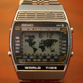 SEIKO - seiko world time