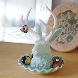 Jackalope - Jewelry Holder