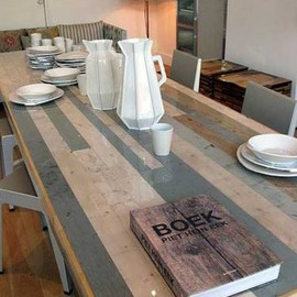Piet Hein Eek - scrapwood canteen table