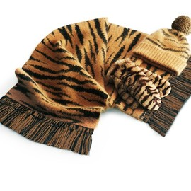 Mulberry - tiger Hats, gloves and scarves 2012AW