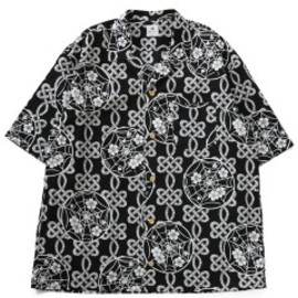 Sasquatchfabrix. - KOKONOE ALOHA BIG SHIRTS (black)