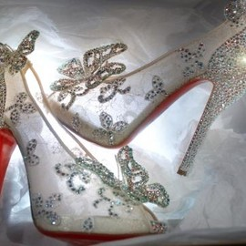 Christian Louboutin - Cinderella's shoes/Christian Louboutin×Disney