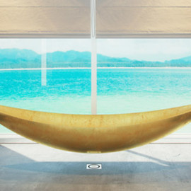 Splinter Works - Vessel - limited-edition hammock bathtub