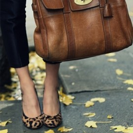 Mulberry - brown/bag