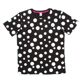 Design Tshirts Store graniph - Random Dot Short Sleeve(Black)