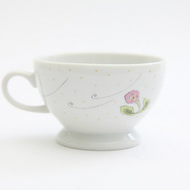 PASS THE BATON - ミナペルホネン Remake Tableware Morning Cup 「リトルトリップ」