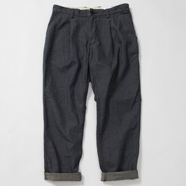 MHL. - COARSE DENIM PANTS