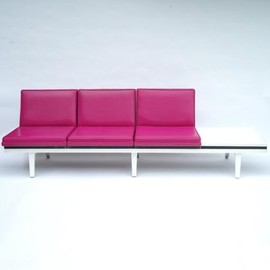 Herman Miller, George Nelson - Steel Frame Table Lounge Unit