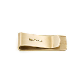 limiteria - Brass Money Clip