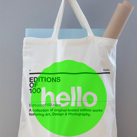 Editions of 100 - EO100 TOTE