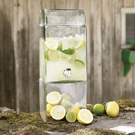 Recycled Glass Drink Dispenser