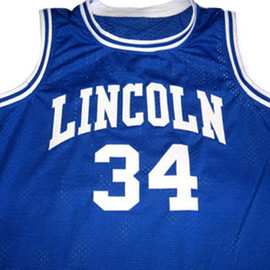 "Unknown, He Got Game, JESUS SHUTTLESWORTH - ""Lincoln"" Jersey"