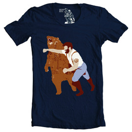 Sharp Shirter - Punching Bear tee