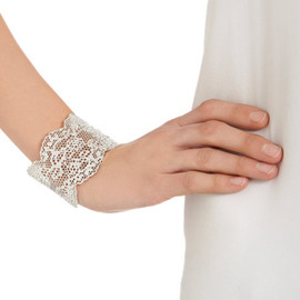 AURÉLIE BIDERMANN - Silver Small Lace Cuff