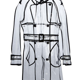 Wanda Nylon - transparent trench coat