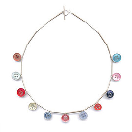Grainne Morton - colour button necklace