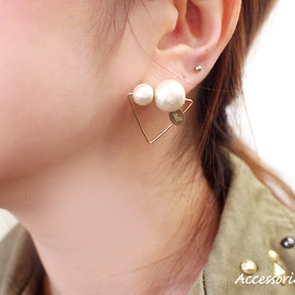 sii - cotton pearl pierce/triangle