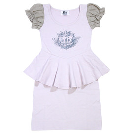 Katie - ANGEL LOGO puff one-piece