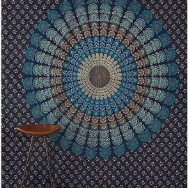 urban outfitters - Peacock Medallion Tapestry