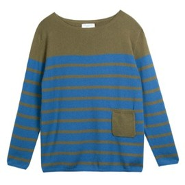 chinti and parker - Slouchy Boatneck Knit - CP418BMB