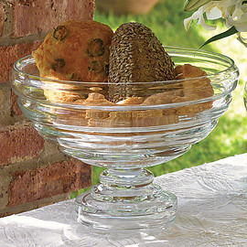 Global Views - Decor Belted Footed Fruit Bowl