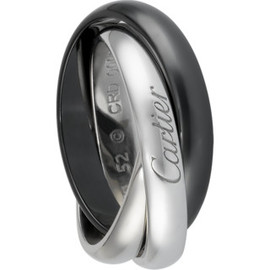 Cartier - TRINITY BLACK AND WHITE  RING