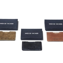 wood wood - wood wood credit card holder sleeve WOOD WOOD CARD HOLDER SLEEVE | YOOX SALE