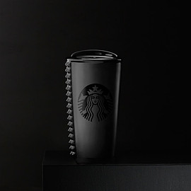 Starbucks - Black Studded Double Wall Traveler, 10 fl oz