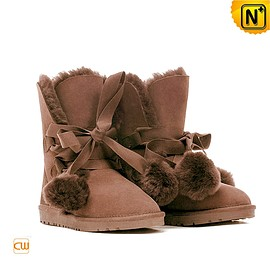 CWMALLS - Winter Shearling Ankle Boots CW314407