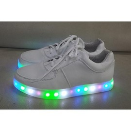 yifang wan x samuel yang - YIFANG WAN X SAMUEL YANG LED Light Up Shoes for Men with Colorful Lights