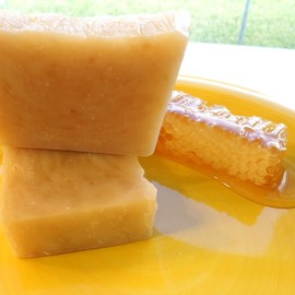 Luulla - Sweet Honey soap - (compare to L'Occitane) - real local honey