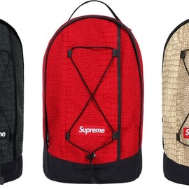 Supreme - croc backpack