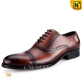 CWMALLS - CWMALLS® Leather Wingtip Brogues Shoes CW716033
