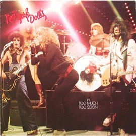 NEW YORK DOLLS - NEW YORK DOLLS (LP) NEW YORK DOLLS