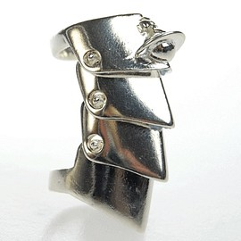 Vivienne Westwood - armour ring   silver