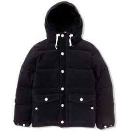 UNIVERSAL PRODUCTS - MOLESKIN DOWN JACKET[BLACK]