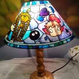 Studio ghibli lamp