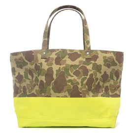 SOPHNET. - 2 Tone Duck Hunter Camouflage Tote Bag