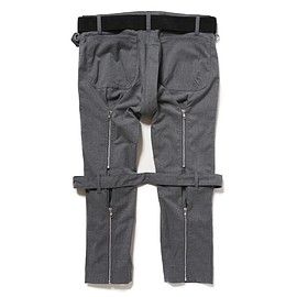 PEEL&LIFT - bondage trousers modern / grey