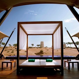 Amazing Banyan Tree Al Wadi Resort in the United Arab Emirates