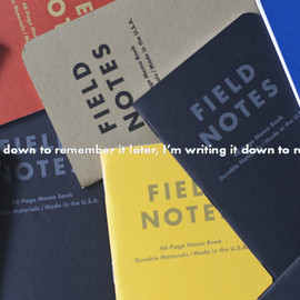 Field Notes - Field Notes