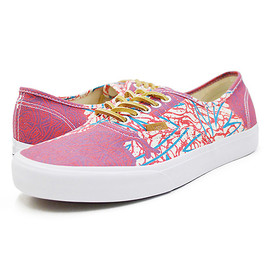 VANS - VANS(バンズ)Authentic CA (Cali Tribe Washed) Poppy VN-0JWIAS4 オーセンティック/スニーカー