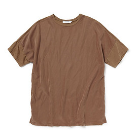 nonnative - CLERK TEE S/S R/C TWILL WITH COTTON JERSEY