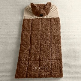 Restoration Hardware - Shaggy Plush Bear Sleeping Bag
